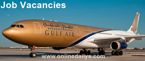 Apply For Gulf Air International Airline Job Vacancies