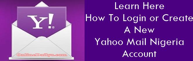 Yahoo Mail Nigeria logo