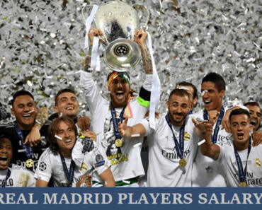 Real Madrid Players Weekly Salary 2017/18