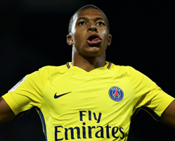 Mbappe Wins Golden Boy Award 2017