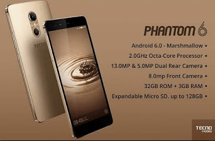 2017 Top 10 Latest Tecno Smartphone Prices, Specification 2