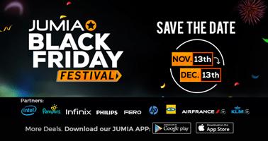 Jumia Black Friday Date 2017