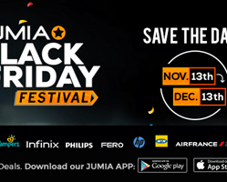Jumia Black Friday Date 2017