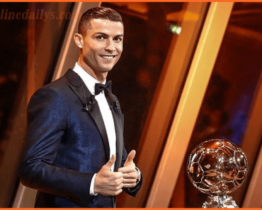 Cristiano Ronaldo 7 wins 2017 Ballon d'Or Award Beating Messi, Neymar