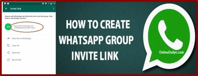 Create A Whatsapp Group Link banner 2