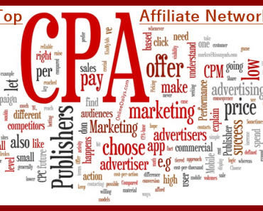 CPA Affiliate Marketing Network Websites