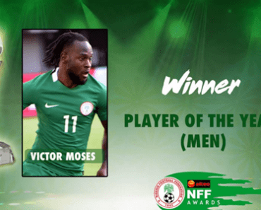 NFF Player Of The Year Award