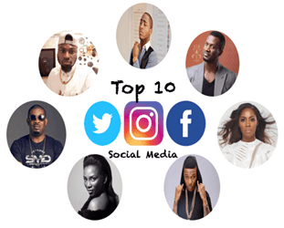 Top 10 Most Followed Nigerian Celebrities On Instagram