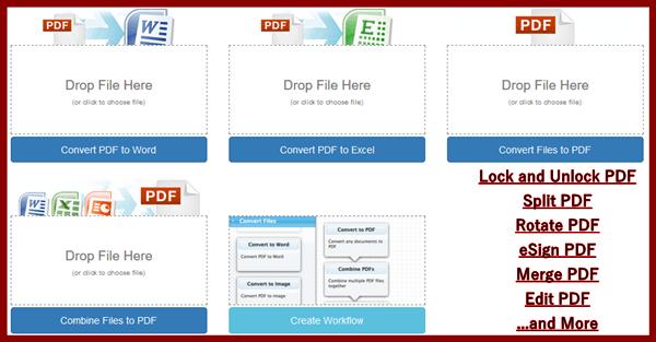 Online PDF to Word converter | Convert DOC, DOCX, Text, JPG
