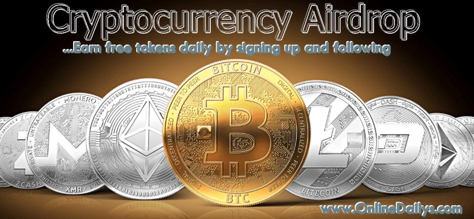 Cryptocurrency Airdrop Alert Website
