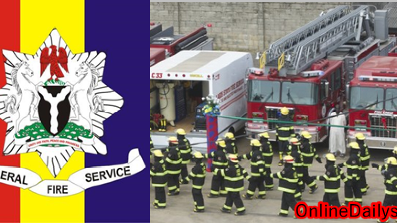 Federal Fire Service Recruitment 2020/2021-  http://fedfire.gov.ng/rportal