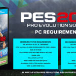 Pro Evolution Soccer 2018 System Requirements – PES 2018 Requirements