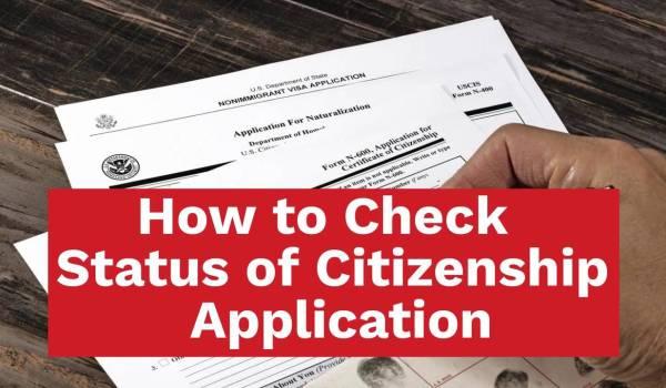 Check US Citizenship Application Status