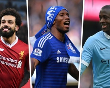 Top 10 African Highest Goal Scorers In EPL