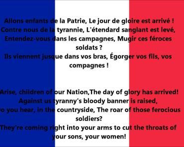 France National Anthem Video And Lyrics