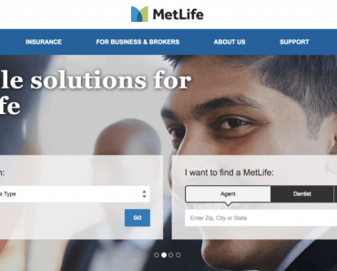MetLife eService Insurance Platform Registration