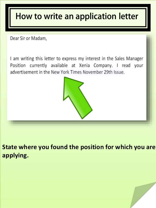 How To Write Cover Letter For Job Application See Samples And Tips