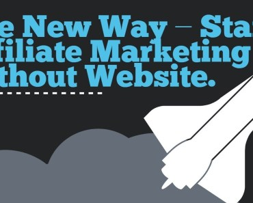 Start Affiliate Marketing Program Without A Website - Image