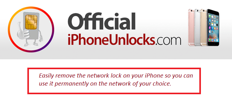 Official iPhoneUnlocks logo