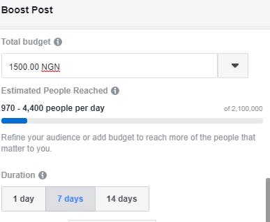 Boost Facebook Posts
