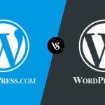 Major Differences Between WordPress.com Vs WordPress.org