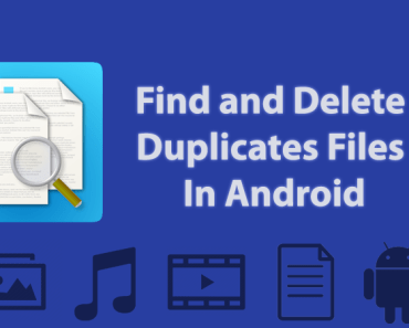 Delete Duplicate files on Android