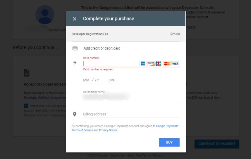 Google developer form 1