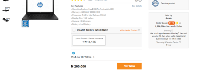 How To Place Order On Jumia