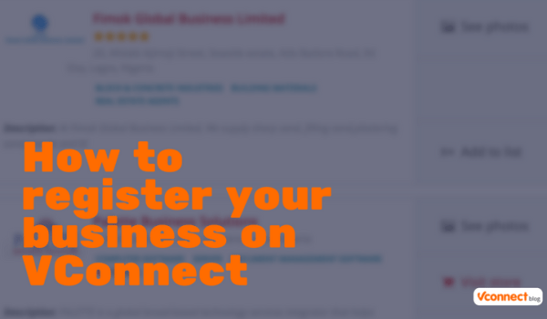 Register Your Business On Vconnect Nigeria