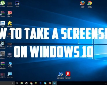 How To Screenshot On Windows 10