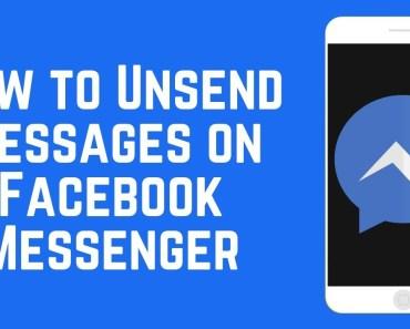 Unsend Facebook Messages