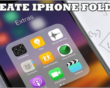 Create Folders On iPhone