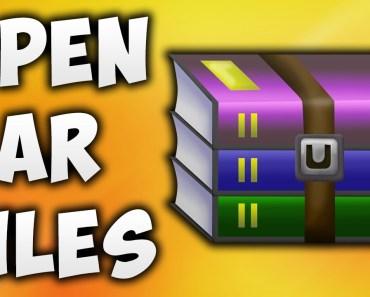 Open Rar Files Extension