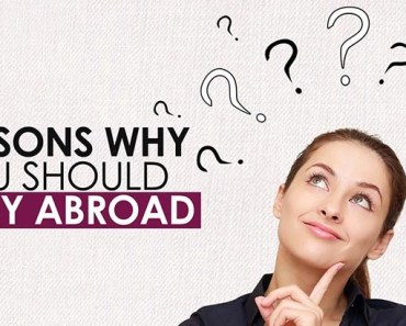 Reasons To Study Abroad