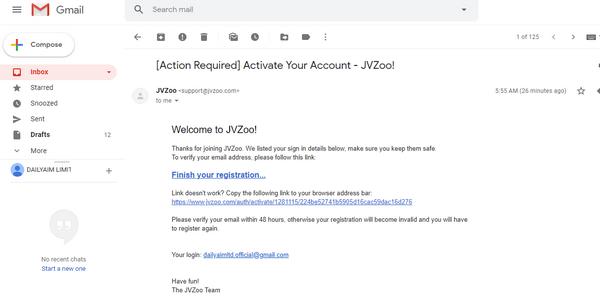 jvzoo affiliate account 1