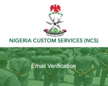 Nigerian Customs Service Recruitment 2019