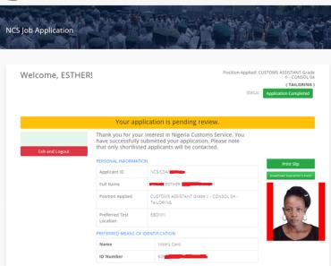 Nig Custom login dashboard image