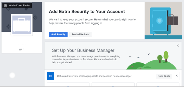 Facebook business manager account