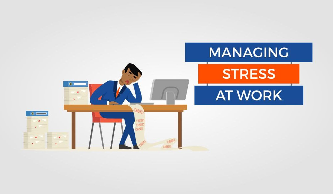 5 Ways To Reduce Stress At Work & Become More Productive