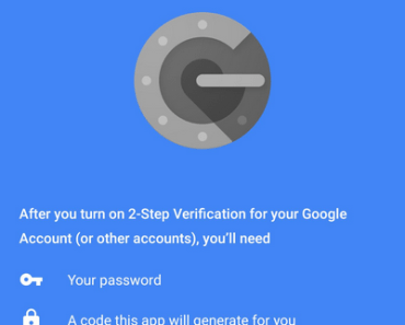 Google Authenticator App image