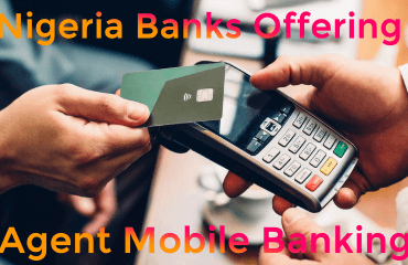Nigeria banks agent mobile banking image
