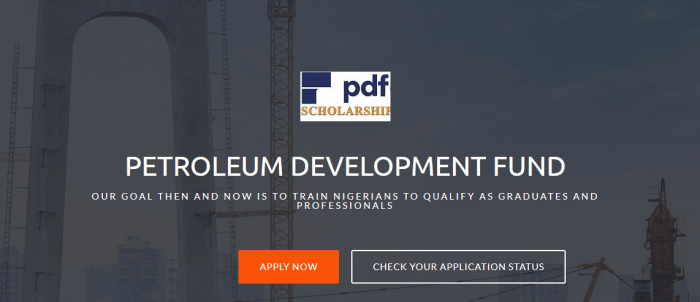 PDF Undergraduates, Masters, PG Scholarship 2019/2020 Application Form is Out
