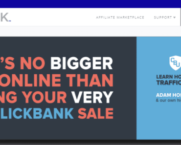 ClickBank affiliate Account Sign up Image