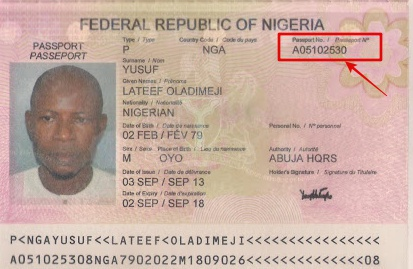 Learn where to locate your International Passport ID number 2