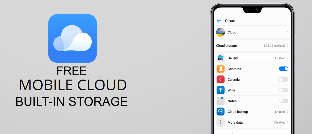 List of Latest Phones with Built-in Cloud Storage (Free Online Storage for Phones)