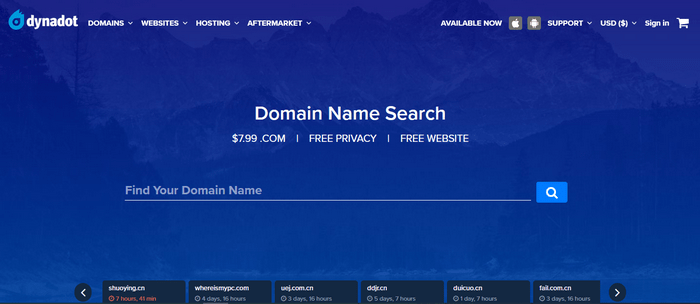 dynadot domain id protection domain regisrar-image