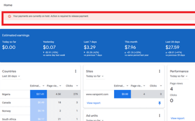 Google AdSense Payment Settings | Receive AdSense Earnings into Your Bank Account