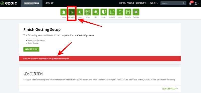 Complete Ezoic Setup Account: Using Ezoic Ad To Increase AdSense Earnings 10