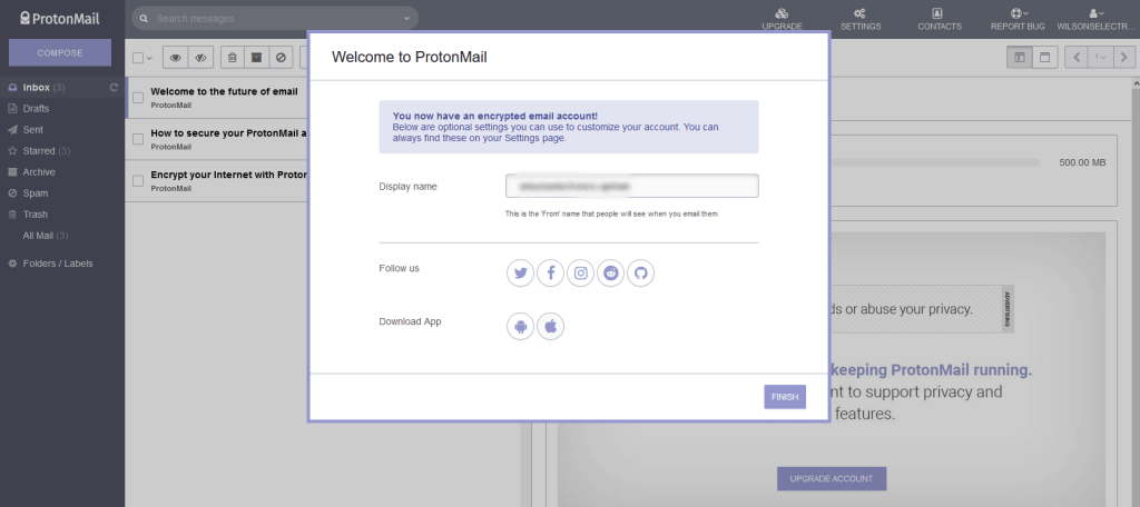 How to Create A New ProtonMail Account On Web And Proton App 2