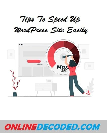 Speed Up WordPress Site Easily